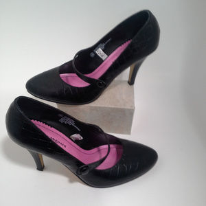 Isaac Mizrahi Size 6.5 shoes pumps Mary Jane heels